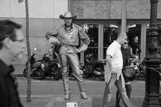 Cowboy, Ramblas, Barcelona