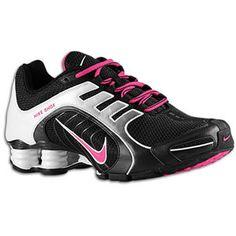 Nike Shox Navina SI - Women's - Black/Bright Violet/White... i want these soo bad!