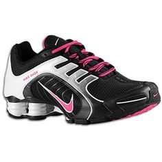 Nike Shox Damen Schwarz