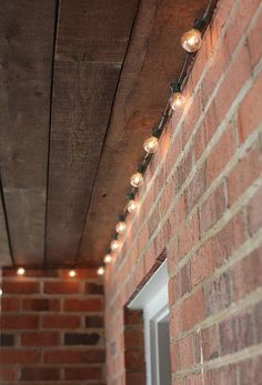 Add a little spark to your patio or porch by installing some lights! Let blogger Ashley of Seventh House on the Left walk you through the step-by-step process of bringing a little more light into your life.