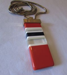 Vintage Lanvin Paris Necklace MOD LUCITE by VINTAGEVogueWARDROBE, $142.00