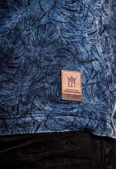 Camiseta Índigo All Print Tropical – EZUTUS Blue Shark, Polo T Shirts, Summer Kids, Sport Wear, Jeans Pants, Mens Tees, Ski, How To Look Better, Graphic Tees