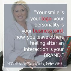 Your smile is your logo your personality is your business card how you leave others feeling after an interaction is your BRAND. My Favourite quote is that your BRAND is your CLIENT's sum total of THEIR emotional attachment and experience with YOU and your business. Your message your core colours and even the fonts you use will create an emotional feeling with your clients. Gone are the 7 touch points on the purchase pathway - with today's digital space & being 'ON' 24/7 your clients have to…