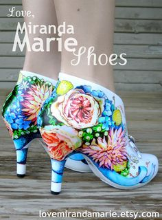 Behind The Painted Shoes by Love, Miranda Marie: August 2012