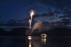 Ketchikan Alaska's 2016 Fireworks show with a Cruise Ship watching.  Many Thanks to Connor Mulvaney for sharing such wonderful photos!  See more at www.experienceketchikan.com Ketchikan Alaska, Fireworks Show, Cruise, Ship, Building, Places, Photos, Travel, Pictures