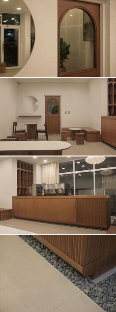 Coffee Cafe Interior, Bakery Interior, Cafe Interior Design, Interior Decorating, Plywood Furniture, Design Furniture, Cafe Display, Small Cafe Design, Design Café