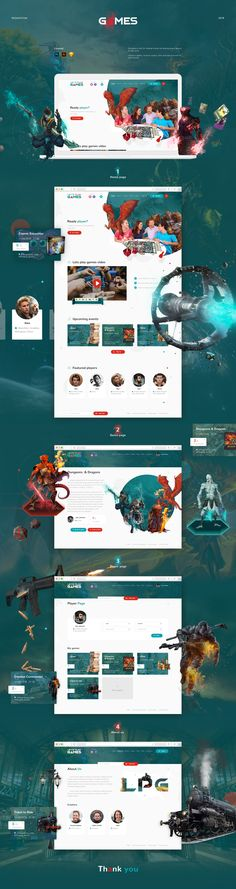 """Lets play games"" website design on Behance Web Ui Design, Web Design Services, Ad Design, Flyer Design, Design Agency, Website Design Inspiration, Graphic Design Inspiration, Affordable Web Design, Web Design Projects"