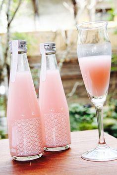 若波 ももいろにごり 200ml 瓶内二次発酵  (若波酒造/福岡県)