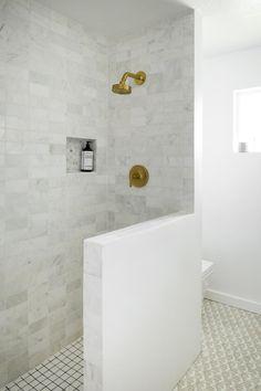 Kirsten Grove's Bathroom Renovation via Simply Grove