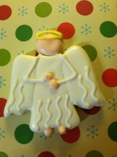 This Listing Is For 2 Dozen Angel Sugar Cookies Decorated With Royal Icing Perfect