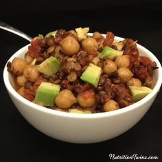 Lentil and Chickpea Stew | Only 200 calories | Cozy Comfort food | Satiating Protein & Fiber | Vegetarian| For RECIPES, fitness & nutrition tips please SIGN UP for our FREE NEWSLETTER www.NutritionTwins.com