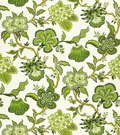 Hothouse Flowers - contemporary - upholstery fabric - F. Schumacher & Co. Contemporary Upholstery Fabric, Upholstery Fabrics, Hot House, Flower Pillow, Jacobean, Schumacher, Fabric Wallpaper, Decorative Pillow Covers, Tree Of Life