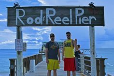 The Rod and Reel Pier on Anna Maria Island. Anna Maria Island, Rod And Reel, Anna Marias, Diving, Places To Go, Favorite Things, Coast, Florida, Swimming