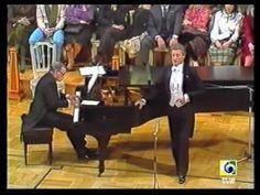 ALFREDO KRAUS (9/11) Quiéreme mucho... 1984 - YouTube