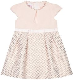 Baker by Ted Baker Baby girls´ pink textured square dress - . -