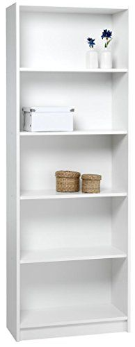 jysk bookcase horsens 5 shelves white jysk httpswwwamazonco