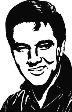 Elvis Presley 3 Die Cut Vinyl Decal Sticker, Hollywood Star Stickers, Musician Decals, Vinyl Decals, Window Stickers, Window Decals, Famous People Decals