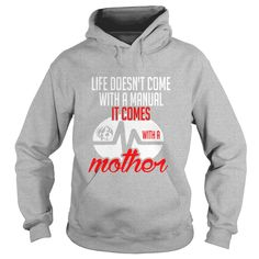 Life Doesnt Come Manual Comes With Mother T-shirt #gift #ideas #Popular #Everything #Videos #Shop #Animals #pets #Architecture #Art #Cars #motorcycles #Celebrities #DIY #crafts #Design #Education #Entertainment #Food #drink #Gardening #Geek #Hair #beauty #Health #fitness #History #Holidays #events #Home decor #Humor #Illustrations #posters #Kids #parenting #Men #Outdoors #Photography #Products #Quotes #Science #nature #Sports #Tattoos #Technology #Travel #Weddings #Women