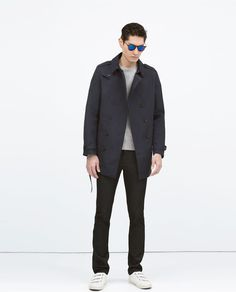 ZARA - COLLECTION SS15 - DOUBLE-BREASTED TRENCH COAT