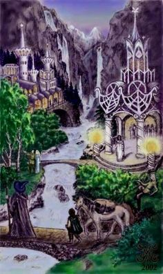 Rivendell - Lord Of The Rings - Fantasy Epic - Tolkien