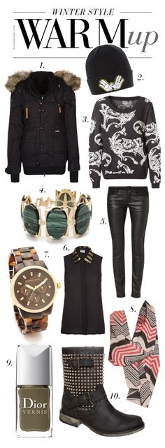 Warm up – Winter Style Inspiration