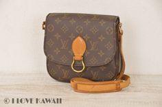Louis Vuitton Monogram Saint Cloud MM Shoulder Bag M51243
