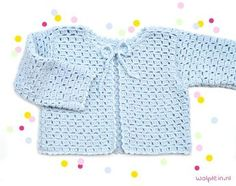 Want to crochet a kids cardigan? This summer model made of byClaire Sparkle will make your kids stand out from the crowd. Get the free pattern here! Crochet Baby Sweater Pattern, Baby Sweater Patterns, Cardigan Pattern, Baby Cardigan, Baby Patterns, Crochet Bebe, Crochet For Kids, Free Crochet, Knit Crochet