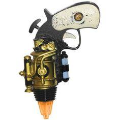 """Steampunk Pistol Revolver Space Gun Halloween Party Prop 7"""""""