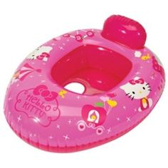 "Aqua Leisure Hello Kitty Deluxe Baby Boat - Aqua Leisure - Toys ""R"" Us Baby Alive Doll Clothes, Baby Alive Dolls, Hello Kitty Clothes, Hello Kitty Baby, Hello Kitty Merchandise, Camo Wedding Cakes, Kawaii Bedroom, Dragon Cakes, Princess Dress Kids"