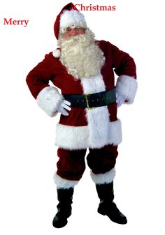 Santa Claus Image on white background