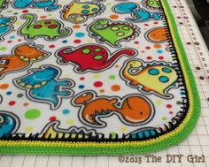 Rounded corners for fleece blanket The DIY Girl 2019 Rounded corners for fleece blanket The DIY Girl The post Rounded corners for fleece blanket The DIY Girl 2019 appeared first on Blanket Diy. Fleece Blanket Diy, Soundproofing Material, Moving And Storage, Receiving Blankets, Quilting Tutorials, Diy For Girls, Round Corner, Fun Crafts, Sewing Crafts