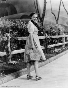 Judy Garland in ''The Wizard of Oz''