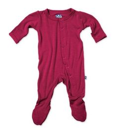 KicKee Pants Footie Orchid 12 18 Months -- Click image to review more details.