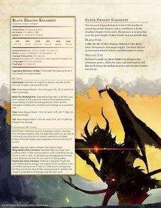 DnD 5e Homebrew — Legendary Boss Monsters by Zephyro7