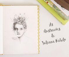 As Ilustrações de Juliana Rabelo