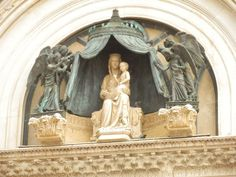 The Cathedral of Orvieto, Italy - detail