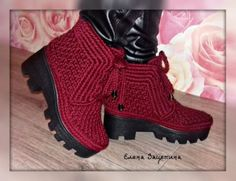 Best Crochet Shoes And Boot Designs Crochet Sandals, Crochet Shoes, Crochet Slippers, Crochet Clothes, Knit Crochet, Crochet Boots Pattern, Crochet Patterns, Knit Shoes, Sock Shoes