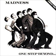 One Step Beyond. is the 1979 debut album by the British ska group Madness. G Condition Greatest Album Covers, Iconic Album Covers, Classic Album Covers, Cool Album Covers, Music Album Covers, Music Albums, Top 100 Albums, Great Albums, Pop Rock