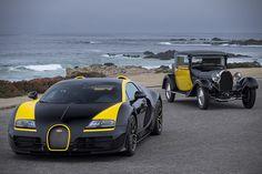 Bugatti Veyron Grand Sport Vitesse and Bugatti Royal