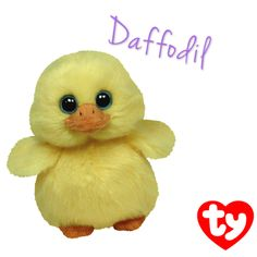 Daffodil the Basket Beanie yellow chick is now available in the online Ty Store! #Easter
