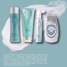 i just cant wait for this next month. the latest innovation from nuskin! Wanna have full amazing hair? you need Ageloc Nutriol - the revolution in next level hair care is almost here! Nu Skin, Nutriol Shampoo, Galvanic Spa, Anti Aging Supplements, Hair System, Healthy Scalp, Facial, Anti Aging Skin Care, Beauty Secrets