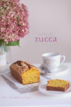 breakfast at lizzy's - Torta di zucca senza latte [pumpkin cake]