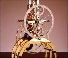 Skeleton Clock - Tempered | David Walter