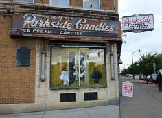 I used to go here with my Dad for spunge candy & a milk shake in 1950,s! Buffalo, New York. I wonder how many people have gone through those doors?