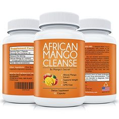 African Mango Cleanse for Quick Weight Loss: Purest African Mango Extract with No Filler - Natural Irvingia Gabonensis - Pure Diet Detox - 100% Money Back Guarantee - 60 Supplement Pills. African Mango Cleanse for Quick Weight Loss: Purest African Mango E (Diet Workout Detox)