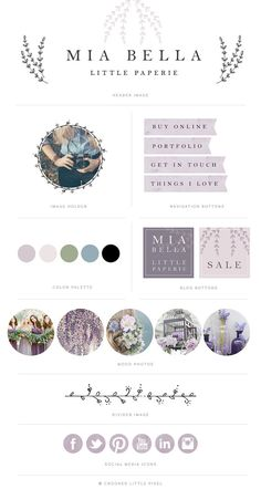 This elegant kit is a great way to give your blog a fresh professional look without breaking the bank! All i need to do is add your details
