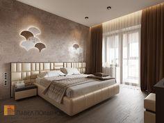 Фото: Интерьер спальни - Интерьер квартиры в стиле минимализм, ЖК «Классика», 130 кв.м.