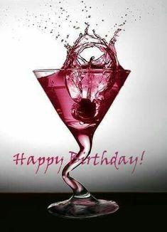Birthday Wishes For Friend, Happy Birthday Wishes Cards, Birthday Wishes And Images, Happy Birthday Pictures, Birthday Blessings, Happy Birthdays, Happy 40th, Happy Birthday Drinks, Happy Birthday Funny