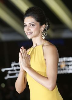 Deepika Padukone arrives at the opening ceremony of the 13th Marrakesh International Film Festival on November 29, 2013 in Marrakech, Morocco.