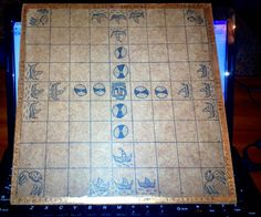 Here's a nice home-made hnefatafl board that accompanies a blog post.  Nice to see more and more people getting interested in the game!